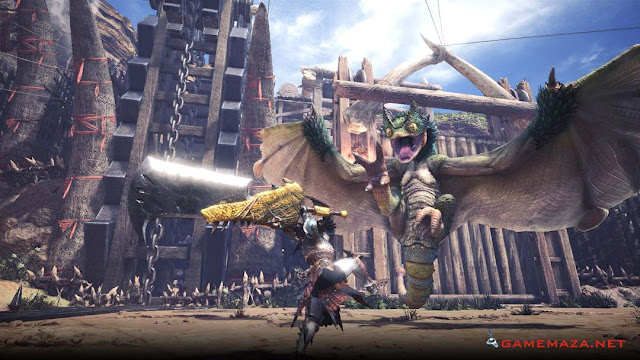Monster Hunter World Gameplay Screenshot 1
