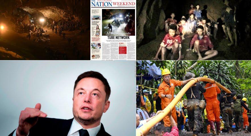 L'incredibile piano di Elon Musk per salvare i bambini intrappolati nella grotta in Thailandia