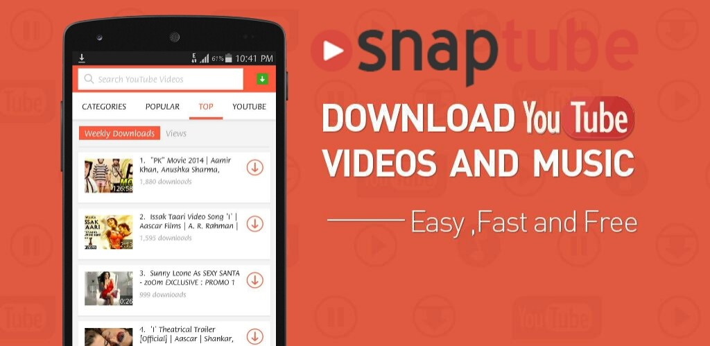 youtube apk download android 7.0