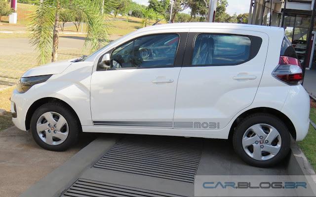 Fiat Mobi Like - Branco