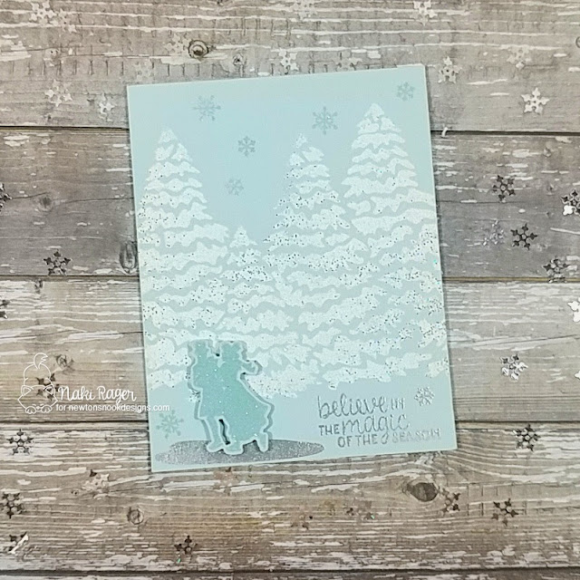 Newton's Nook Designs Winter Memories Set - Naki Rager