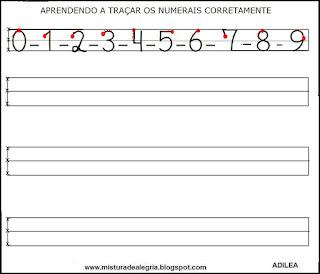 Escrever os numerais certo