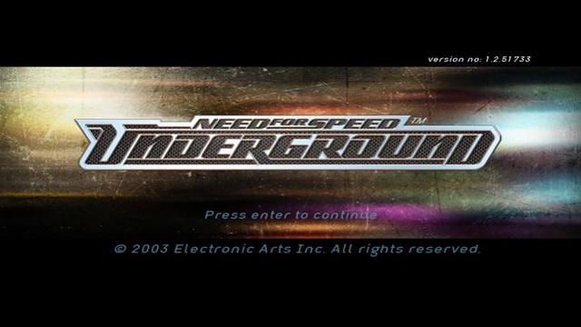 Download Need for Speed Underground 1 PC Games