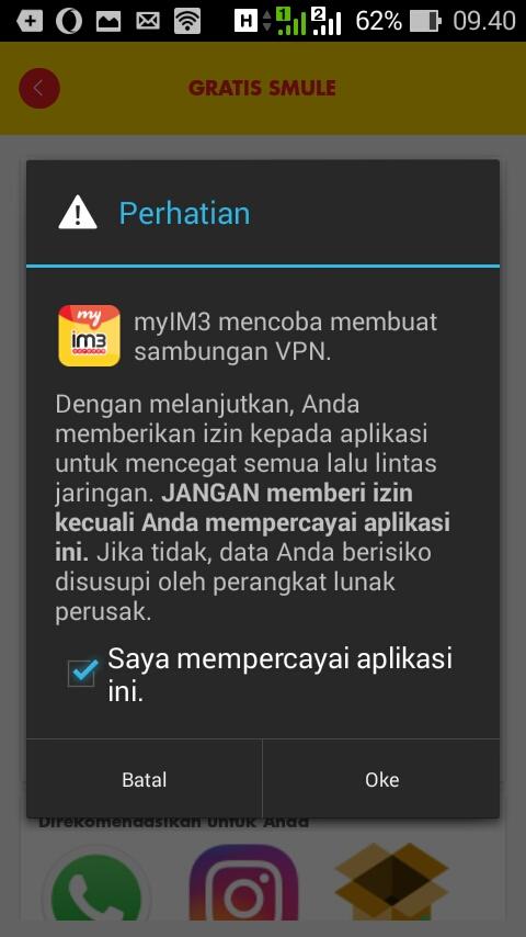 Begini Cara Gratis Internetan Dengan VPN Indosat