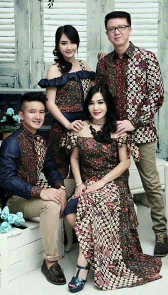 Model Baju Batik Couple Anak Muda Yang Kekinian