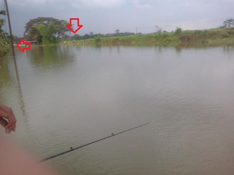 mancing ikan di tempat bagian timur