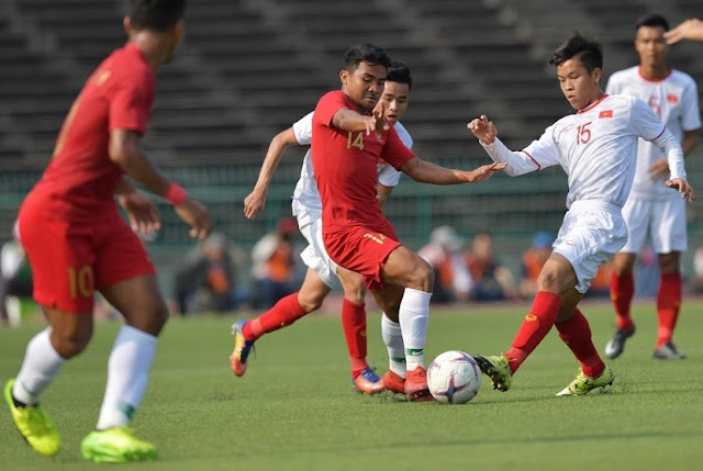 Kalahkan Vietnam, Timnas Indonesia U-22 Melaju ke Final Piala AFF U-22 2019
