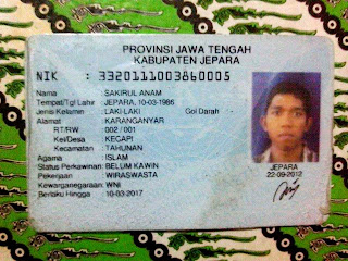 ID card anam