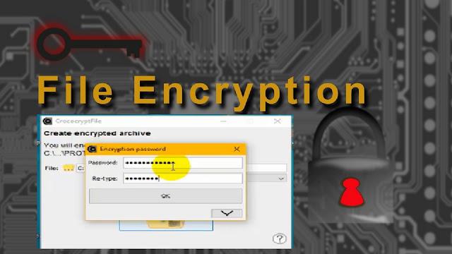 تشفير الملفات على الويندوز مع أفضل برنامج وبنقرة زر واحدة CrococryptFile