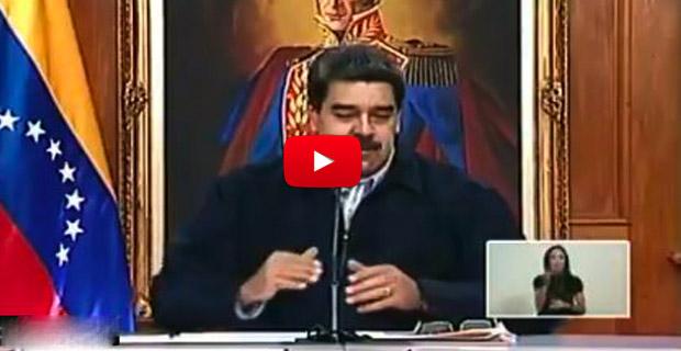 Maduro volvió a llamar lavapocetas a los venezolanos emigrantes