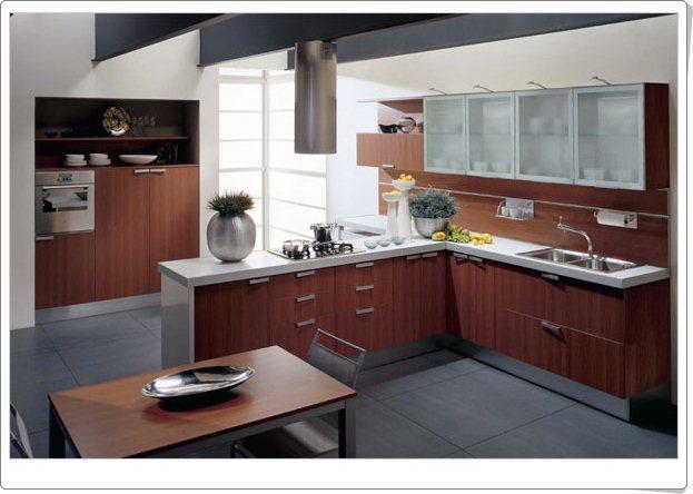 Moderne italiensk stil kjøkken   interiør inspirasjon