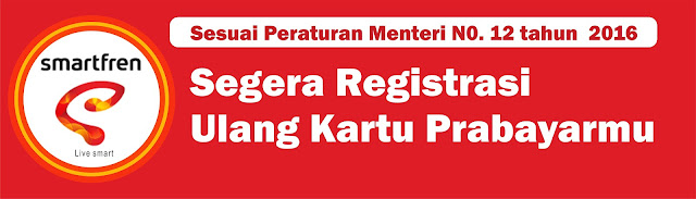Cara Registrasi Ulang Kartu Smartfren Sesuai KTP dan KK