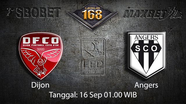 Prediksi Bola Jitu Dijon vs Angers 16 September 2018 ( French Ligue 1 )
