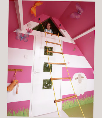 Images Of Cool Bunk Beds For Girls Creative and Unique With Pink and White Color Best