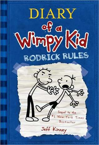 Books Are Magic: Diary of a Wimpy Kid: Rodrick Rules ...