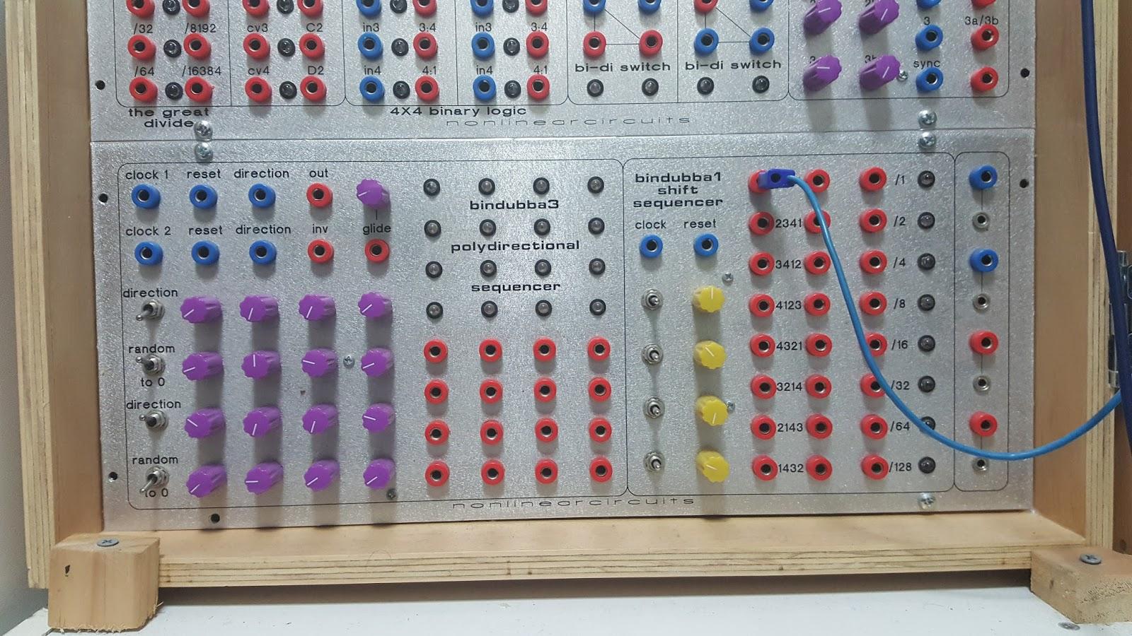 JonDent - Exploring Electronic Music: Bindubba sequencer