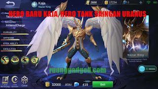 New Hero Mobile Legends Yang Akan Rilis di Server Global Setelah Hero Uranus