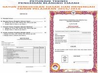 Juknis Pengisian dan Format Blangko Ijazah SD, SMP, SMA, Paket A B C