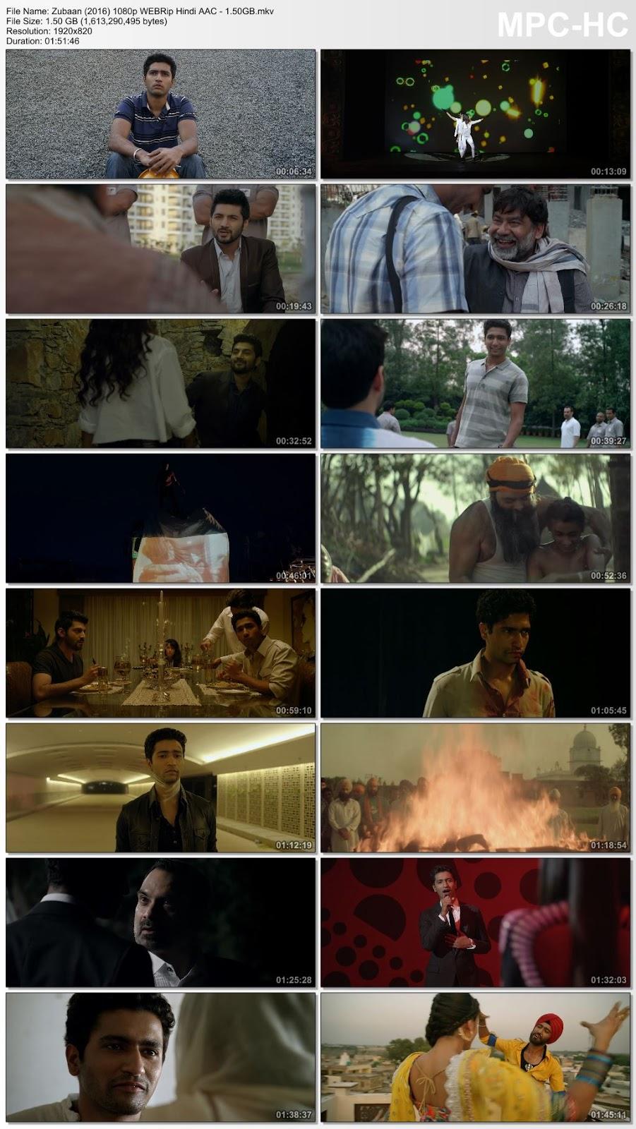 Zubaan (2016) Hindi 1080p WEBRip Hindi AAC – 1.5GB Desirehub