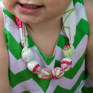 how to make a perfect baby necklace