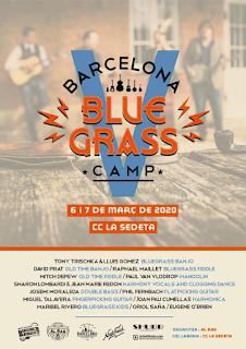 Barcelona Blue Grass Camp