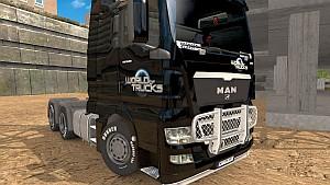 World of Trucks MAN skin