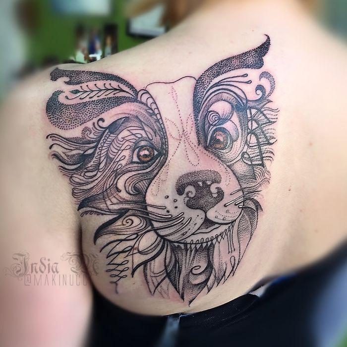 Inspirasi Tatto Bergambar Hewan