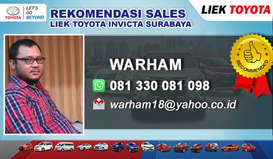 Toyota Liek Invicta Surabaya