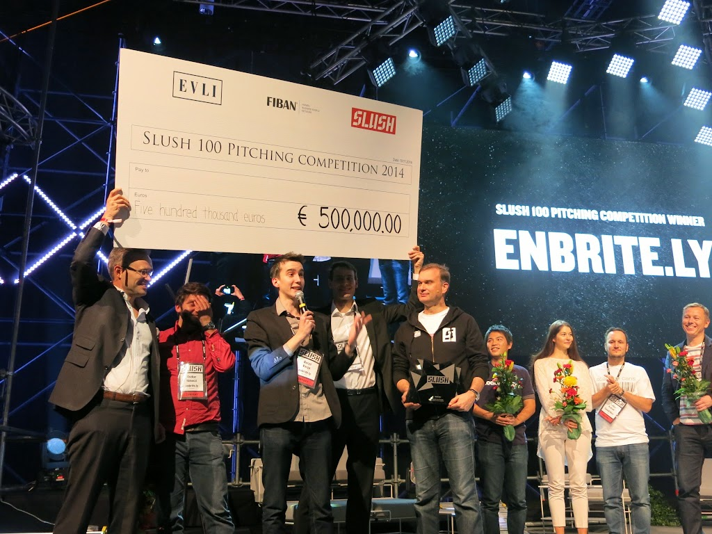 [芬蘭現場]成立6個月的公司,抱走2000萬台幣大獎!
