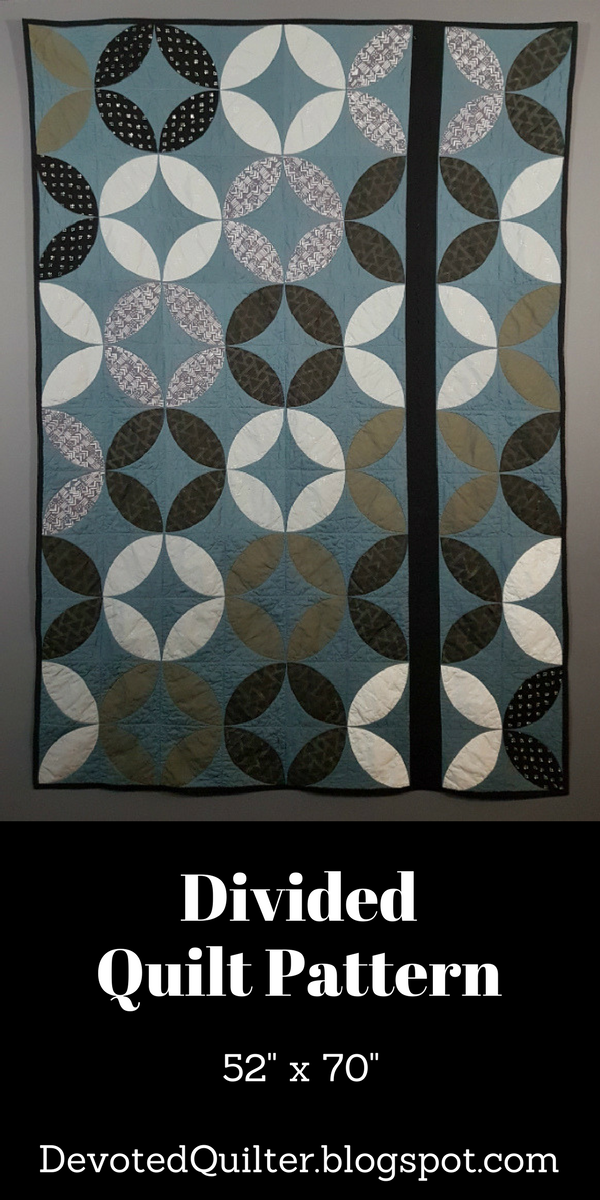 Divided Quilt Pattern | DevotedQuilter.blogspot.com