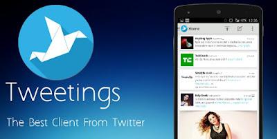 Tweetings for Twitter Android Apk 8.9.5 Aplikasi Twitter Terbaik