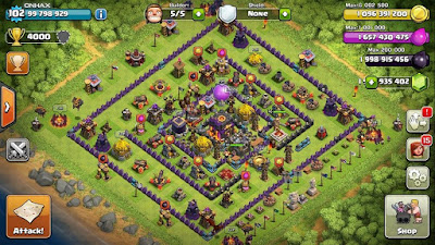 Clash of Clans 9.105.5 APK Mod Hack TERBARU UNLIMITED