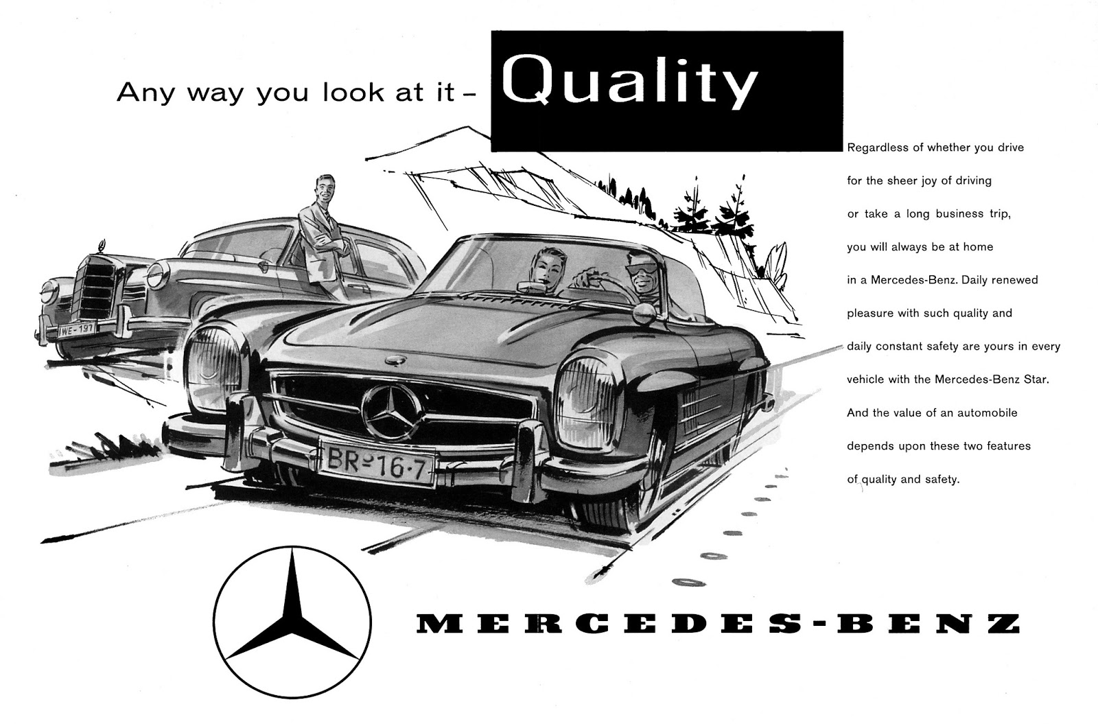 The Automobile And American Life Mercedes Benz 300 Sl