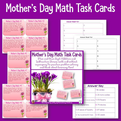 Resources for May - plenty of resources for Mother's Day, Cinco de Mayo, Memorial Day, and even the Kentucky Derby, plus several freebies!