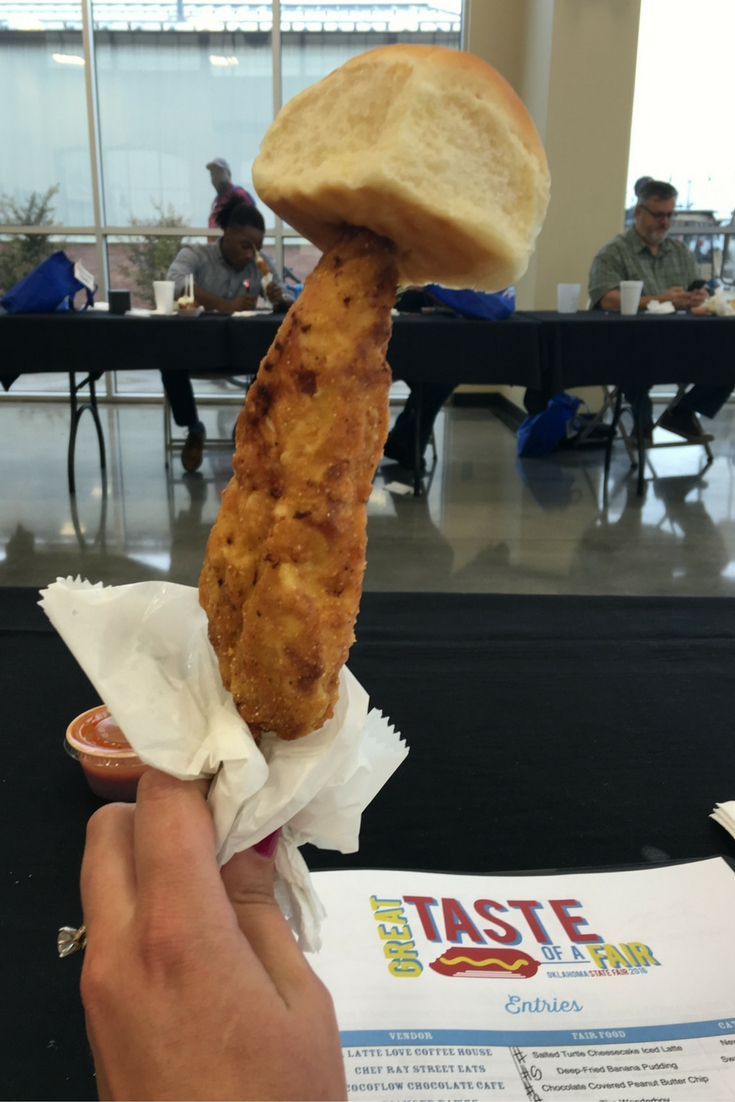 Slice of Savory:1st Place: Ragin' Cajun, Chicken On-A-Stick