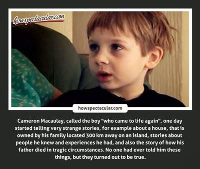 Cameron Macauley Reincarnation
