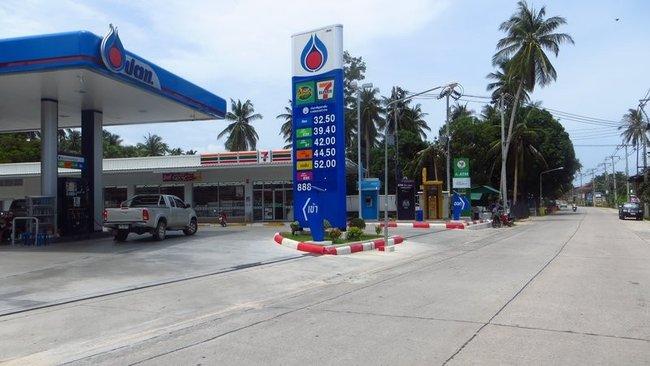 автозаправка Таиланд