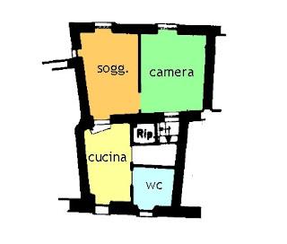 planimetria casa vendita ceriana imperia