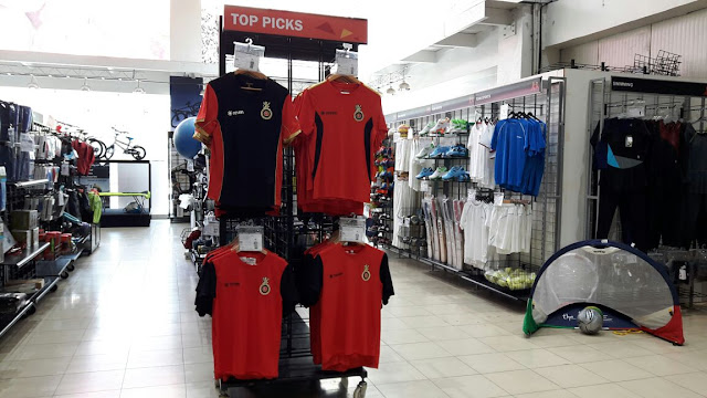 Zeven will be now available in five SportXS stores across the country