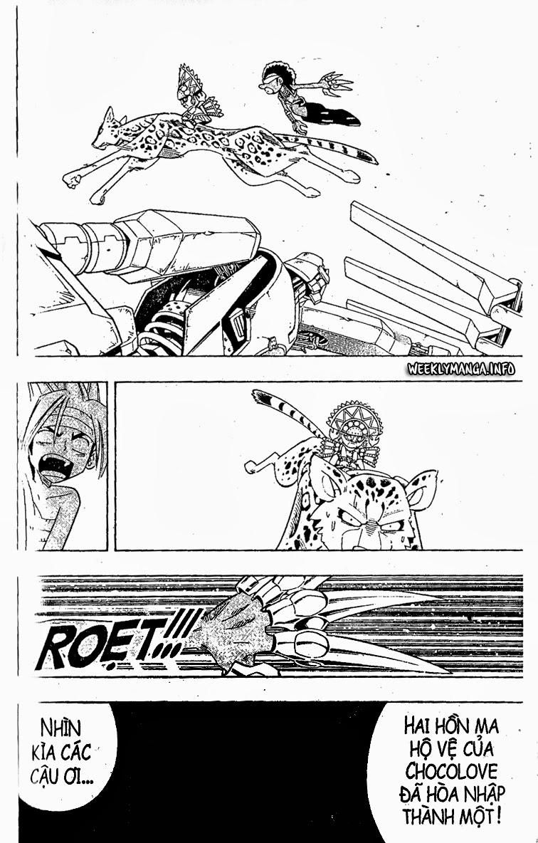 Shaman King [Vua pháp thuật] chap 205 trang 17