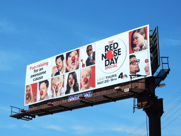 Red Nose Day Special 2016 USA billboard
