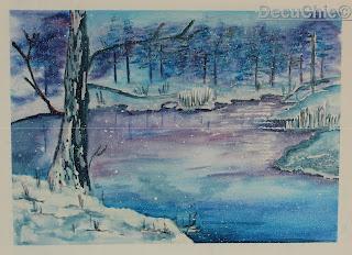 Obraz zimowy