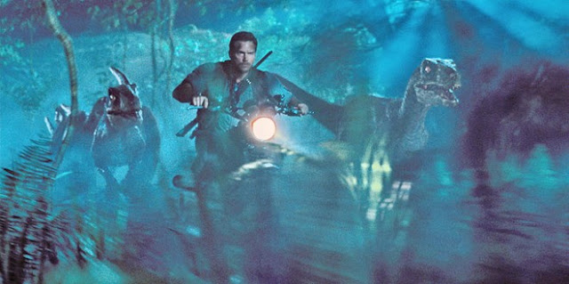 Kiệt tác Triump Scrambler trong phim Jurassic World