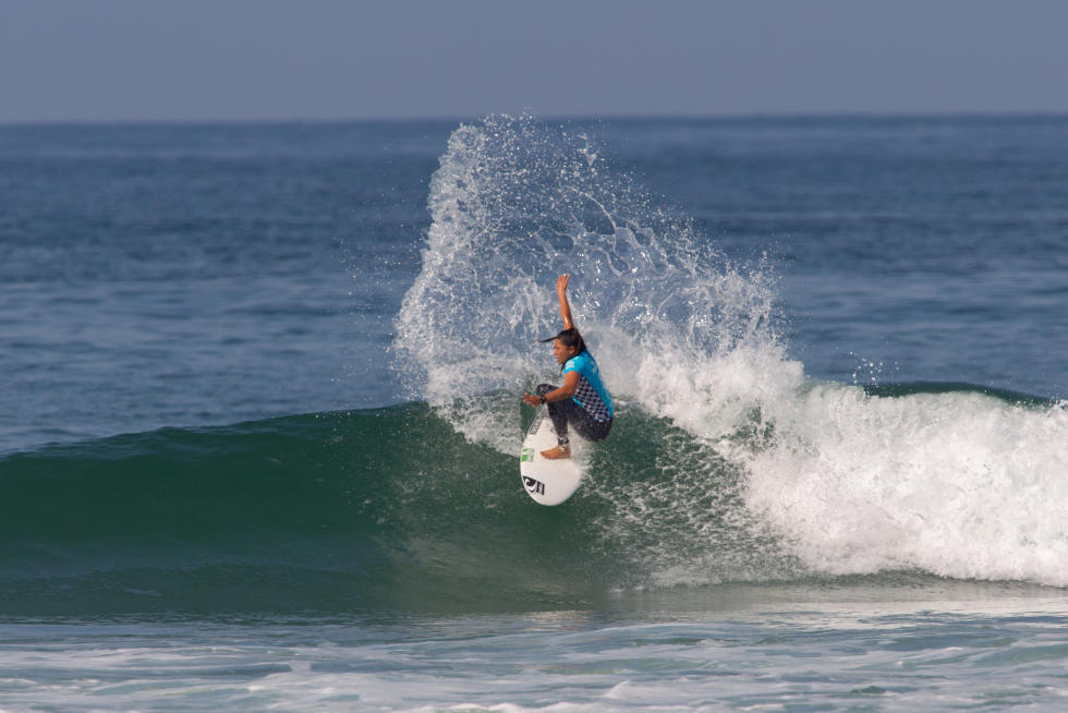 7 Malia Manuel Vans US Open of Surfing foto Sean Rowland WSL