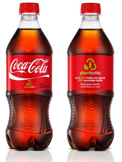 Coca Cola utiliza envases sostenibles fabricados con materiales de origen  vegetal 0fb96ce6a76c