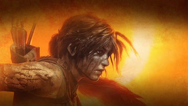Papel de parede Jogo Shadow of the Tomb Raider Lara Croft para PC, Notebook, iPhone, Android e Tablet.