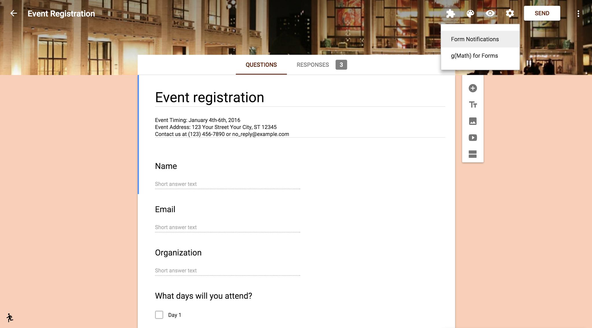 Nieuwe Google Formulieren zijn nu de standaard optie, met ...