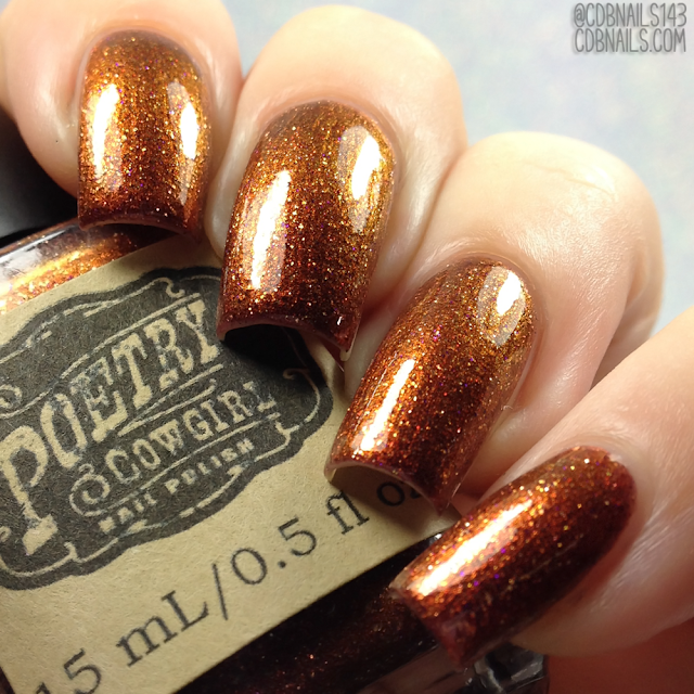 Poetry Cowgirl Nail Polish-Up From Milford
