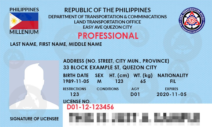 How to renew drivers license Non-Professional and Professional
