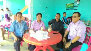 Tiga Pimpinan Parpol di Tebo Ngumpul di Terminal Rimbo Bujang, Ada Apa?